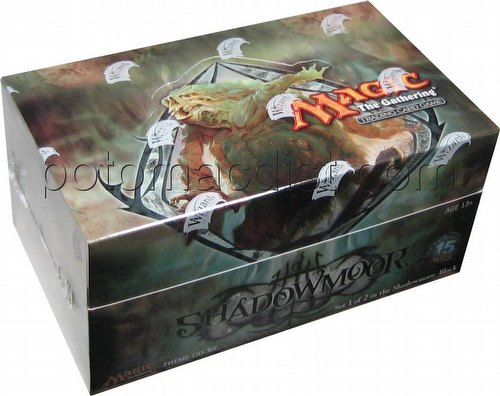 Magic the Gathering TCG: Shadowmoor Theme Starter Deck Box