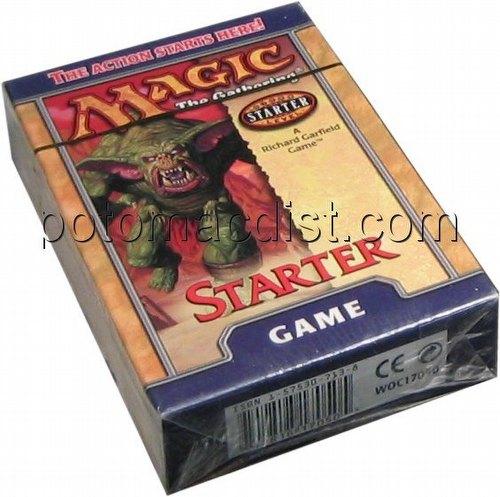 Magic the Gathering TCG: Starter Game Starter Deck Box