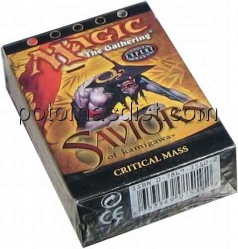 Magic the Gathering TCG: Saviors of Kamigawa Critical Mass Starter Deck