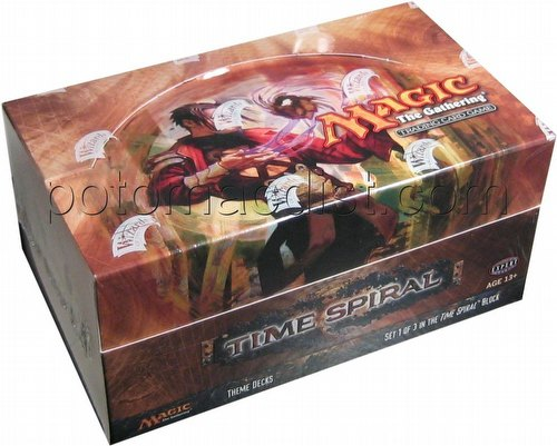 Magic the Gathering TCG: Time Spiral Theme Starter Deck Box