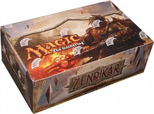 Magic the Gathering TCG: Zendikar Booster Box