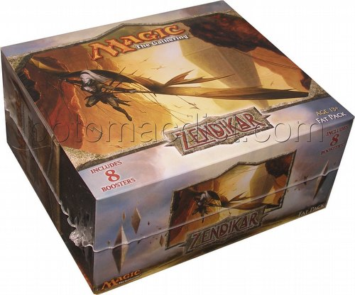 Magic the Gathering TCG: Zendikar Fat Pack