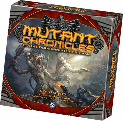 Mutant Chronicles Collectible Miniatures Game [CMG] Starter Case [6 starters]