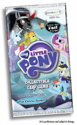 My Little Pony CCG: The Crystal Games Booster Box Case [12 boxes]
