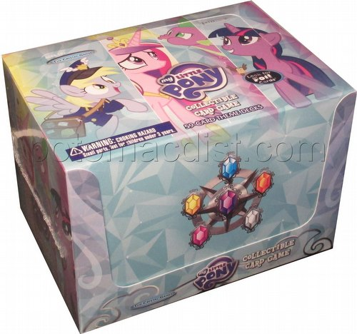 My Little Pony CCG: The Crystal Games Theme Deck Box