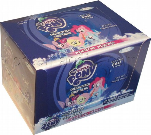 My Little Pony CCG: Equestrian Odysseys Theme Deck Box