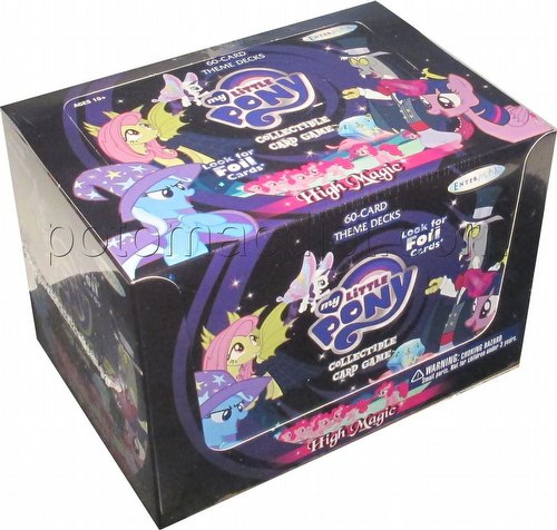 My Little Pony CCG: High Magic Theme Deck Box