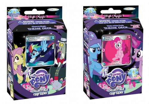 My Little Pony CCG: High Magic Theme Deck Set [2 decks]
