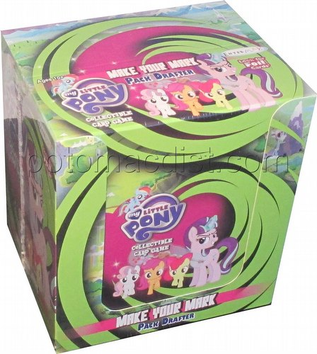 My Little Pony CCG: Marks in Time Pack Drafter Box