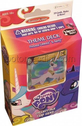 My Little Pony CCG: Canterlot Nights Princess Celestia Theme Deck