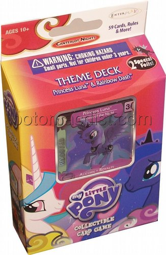 My Little Pony CCG: Canterlot Nights Princess Luna Theme Deck