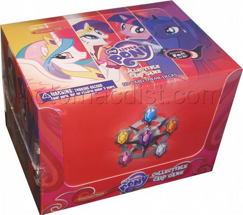 My Little Pony CCG: Canterlot Nights Theme Deck Box