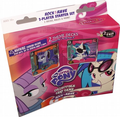 My Little Pony CCG: Rock N Rave 2-Player Starter Set Box
