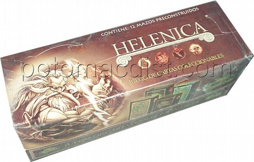 Myths & Legends: Helenica Starter Deck Box [Spanish]