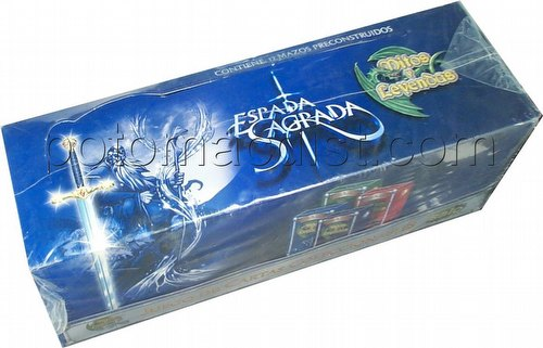 Myths & Legends: Sacred Sword Theme Decks Box [Spanish]