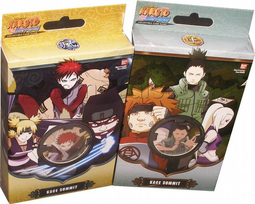 Naruto: Kage Summit Theme Starter Deck Set [2 decks]