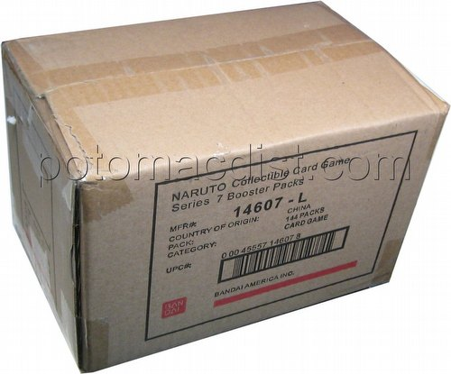 Naruto: Quest for Power Booster Box Case [1st Edition/6 boxes]