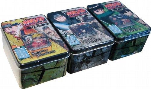 Naruto: Secret of the Masters Tin Set [3 tins/1 of each design]