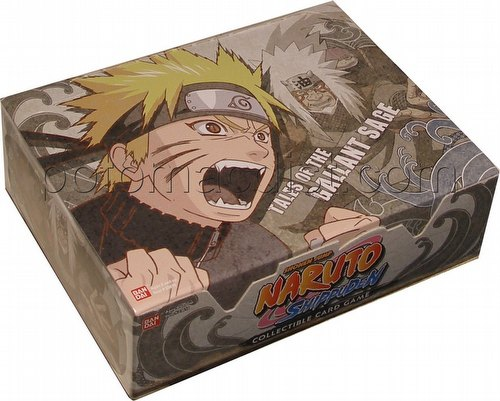 Naruto: Tales of the Gallant Sage Booster Box [1st Edition]