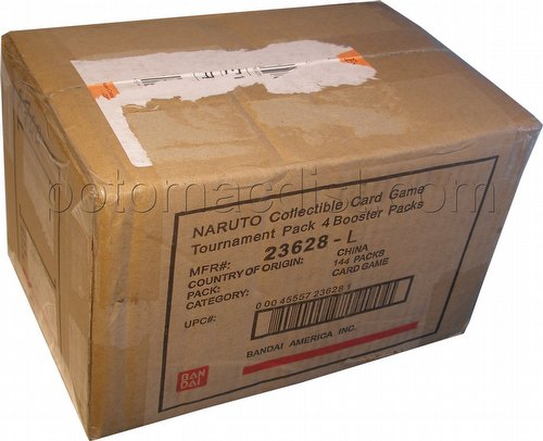 Naruto: Tournament Pack 4 Booster Box Case [1st Edition/6 boxes]