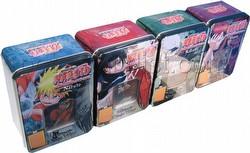 Naruto: Collectible Tin Set [4 tins]