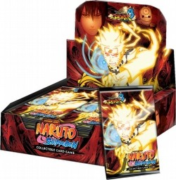 Naruto: Ultimate Ninja Storm 3 Booster Box 3 Case Lot [1st Edition/18 total boxes]