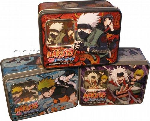 Naruto: Untouchable Tin Set [3 tins]