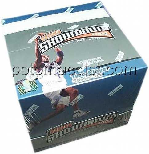 NBA Showdown Sports Card Game: 2002 [02] Starter Deck Box