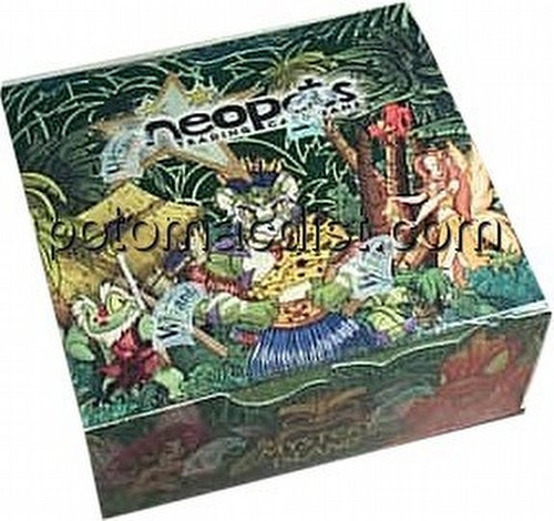 NeoPets Trading Card Game [TCG]: Secrets of Mystery Island Booster Box