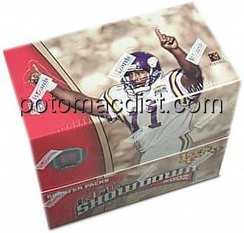 NFL Showdown: 2002 First & Goal Booster Box