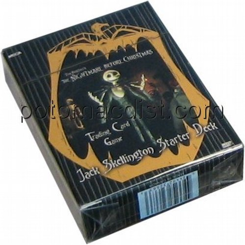 Nightmare Before Christmas Trading Card Game [TCG]: Jack Skellington Starter Deck