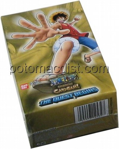 One Piece Collectible Card Game [CCG]: Quest Begins Booster Box