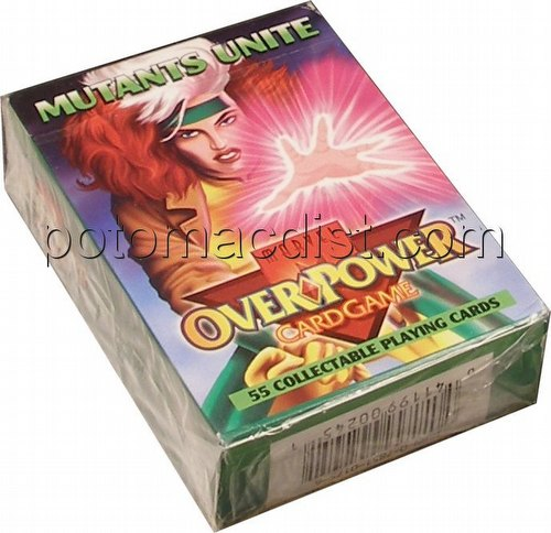 Overpower: Marvel Mutants Unite Starter Deck