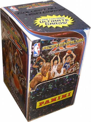 2009/2010 Panini Adrenalyn XL Trading Card Game Basketball 100-Pack Box