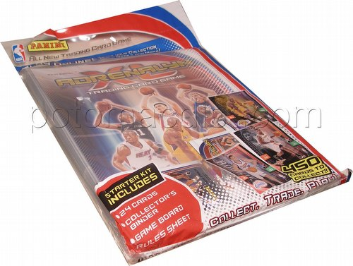 2009/2010 Panini Adrenalyn XL Trading Card Game Basketball Starter Kit