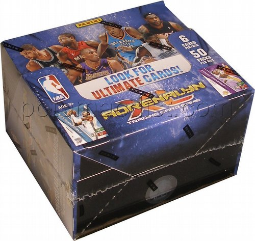 2010/2011 Panini Adrenalyn XL Trading Card Game Basketball Booster Box