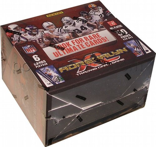 2010 Panini Adrenalyn XL Trading Card Game Football Booster Box