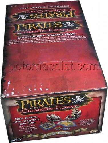 Pirates of the Crimson Coast Constructible Strategy Game [CSG]: Booster Box