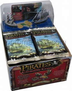 Pirates of the Crimson Coast Constructible Strategy Game [CSG]: Booster Box [18 packs]