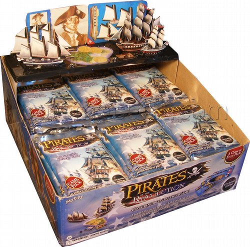 Pirates of the Revolution Constructible Strategy Game [CSG]: Booster Box [Unlimited/36 ct]