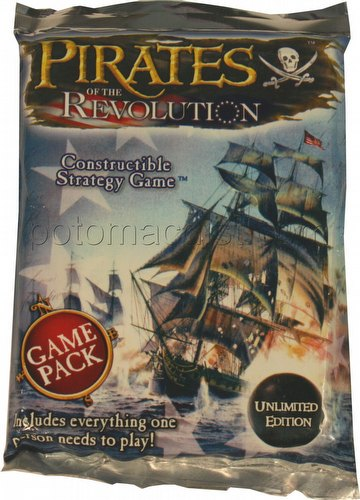 Pirates of the Revolution Constructible Strategy Game [CSG]: Booster Pack [Unlimited]