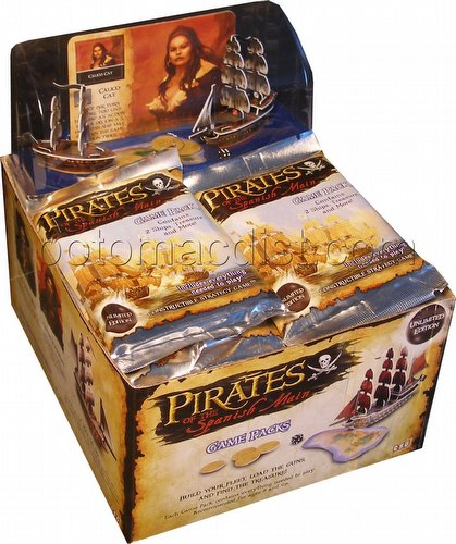 Pirates of the Spanish Main Constructible Strategy Game [CSG]: Booster Display Box [Unlim./18 packs]