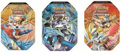 Pokemon TCG: 2013 Spring EX Tin Set [3 tins]
