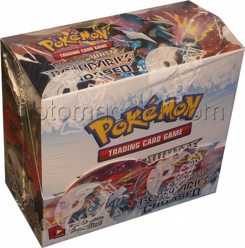 Pokemon TCG: Black & White Boundaries Crossed Booster Box