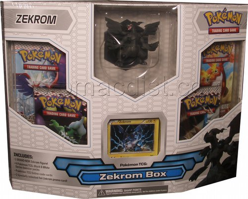 Pokemon: Black & White Legendary Zekrom Figure Box