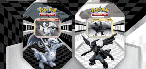 Pokemon TCG: Black & White New Legends Tin Case [6 tins]