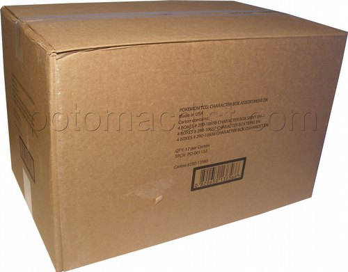Pokemon TCG: Starter Figure Case [12 boxes]