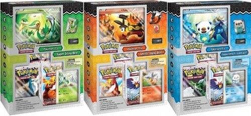 Pokemon TCG: Starter Figure Set [3 boxes/1 of each]