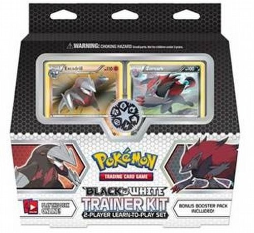 Pokemon TCG: Black & White Trainer Kit Case [4 boxes]
