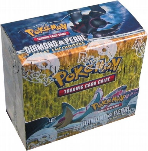 Pokemon TCG: Diamond & Pearl - Great Encounters Booster Box